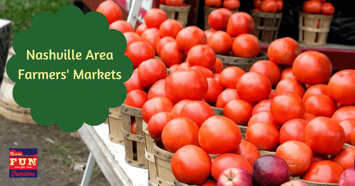 Nashville Area Farmers' Markets