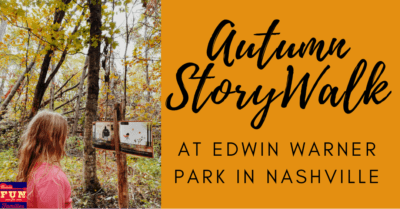 Autumn StoryWalk at Edwin Warner Park in Nashville
