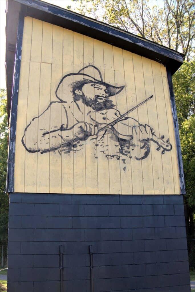 Charlie Daniels mural