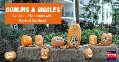 Goblins and Giggles: Celebrate Fall at Gaylord Opryland