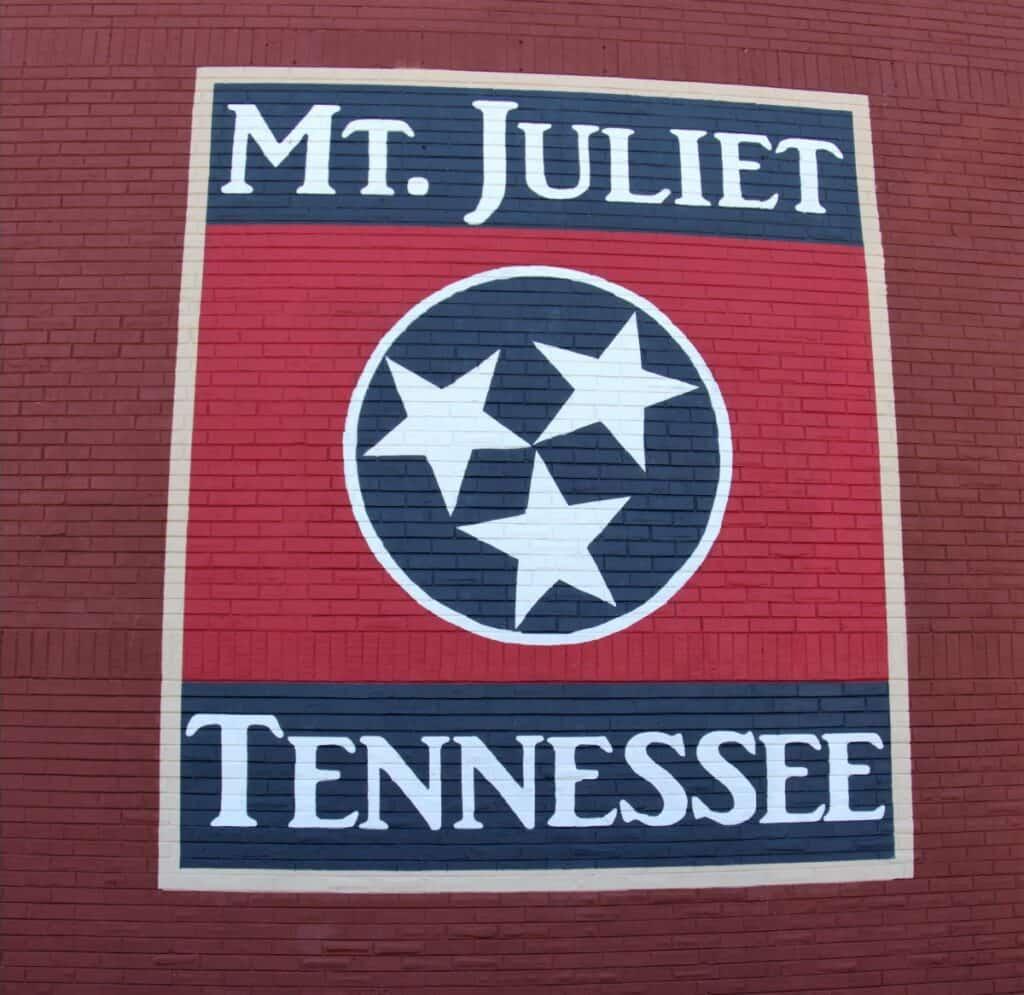 Mt Juliet Tennessee mural