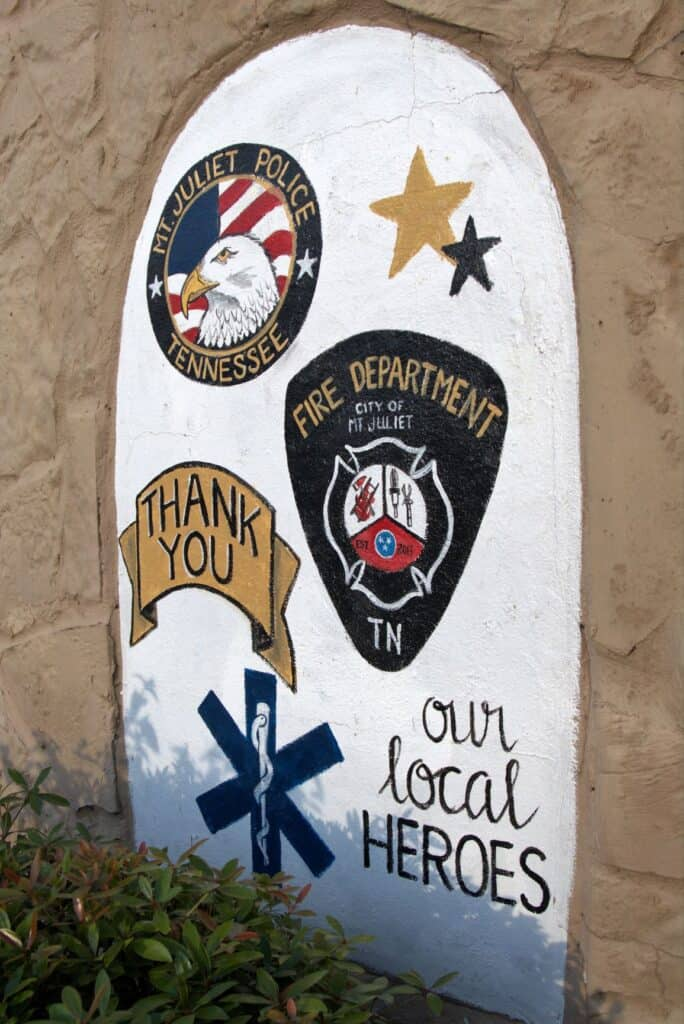 Thank you to our local heroes