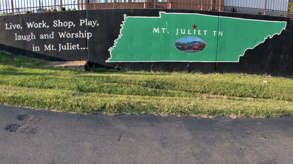 Live, Work, Shop, Play, laugh and Worship in Mt. Juliet....