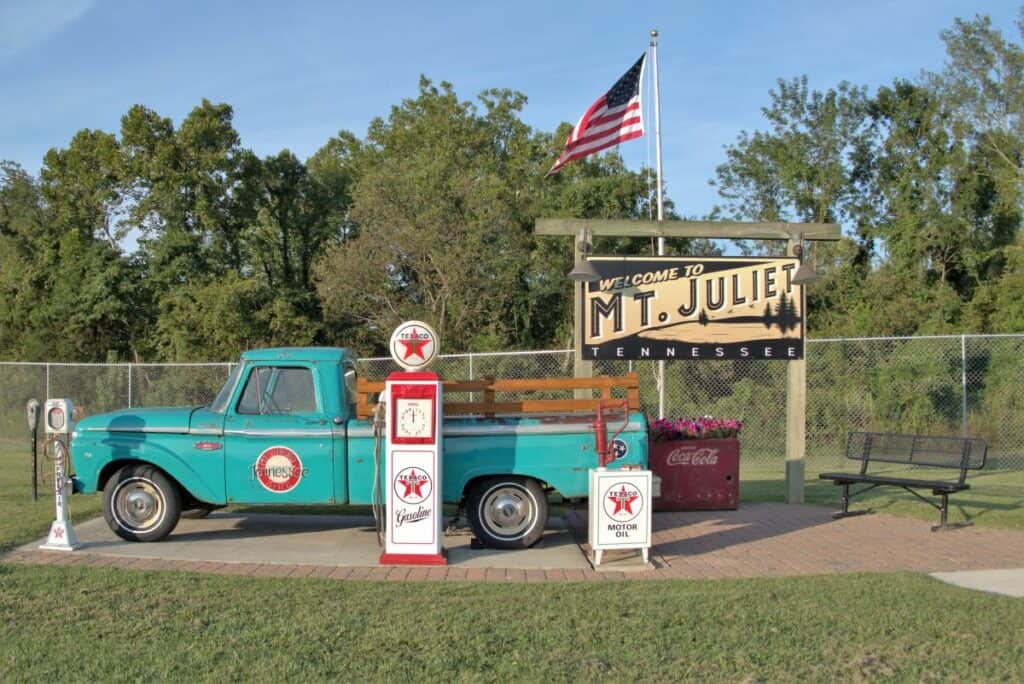 Welcome to Mt. Juliet Tennessee