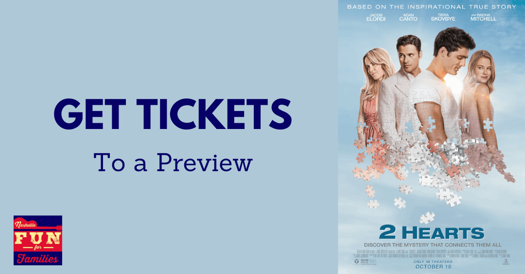 Get tickets to a 2 Hearts movie preview