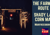 Flashlight Corn Maze in Murfreesboro, Tennessee