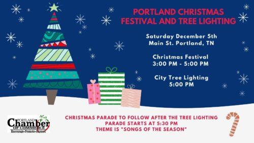 Portland Christmas Festival and Tree Lighting | Dec,5,2020