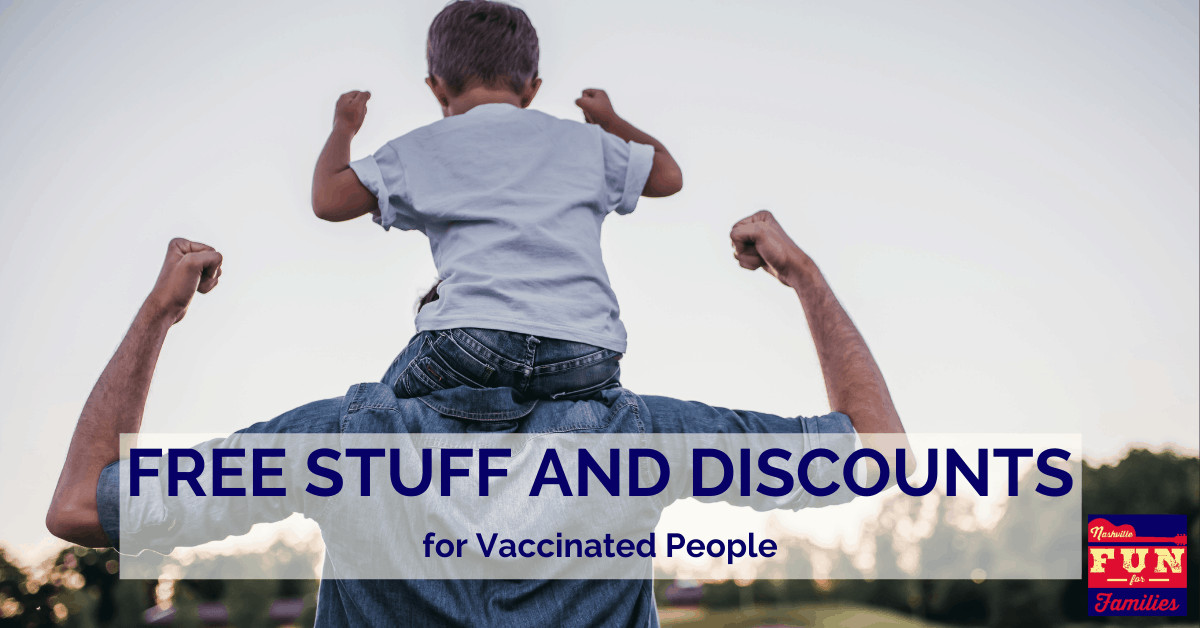 Free Stuff and Discounts for Vaccinated People