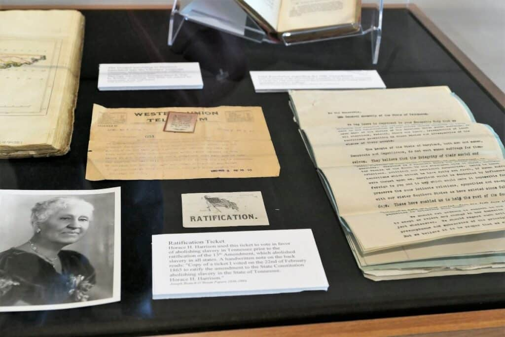 19th Amendment documents