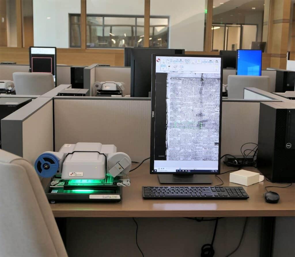 Microfilm machines